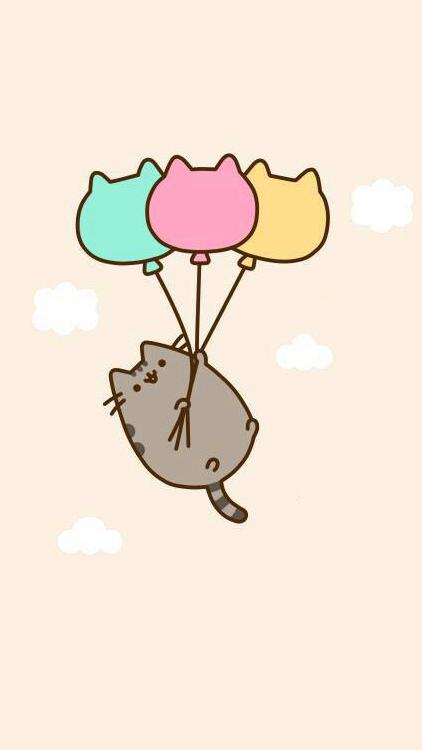pusheen balloon | プシーン, キングピン, デザイン