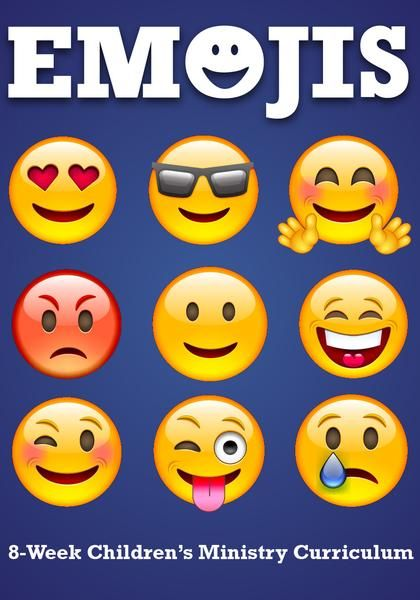 Emojis 8-Week Children's Ministry Curriculum | Cool Ideas