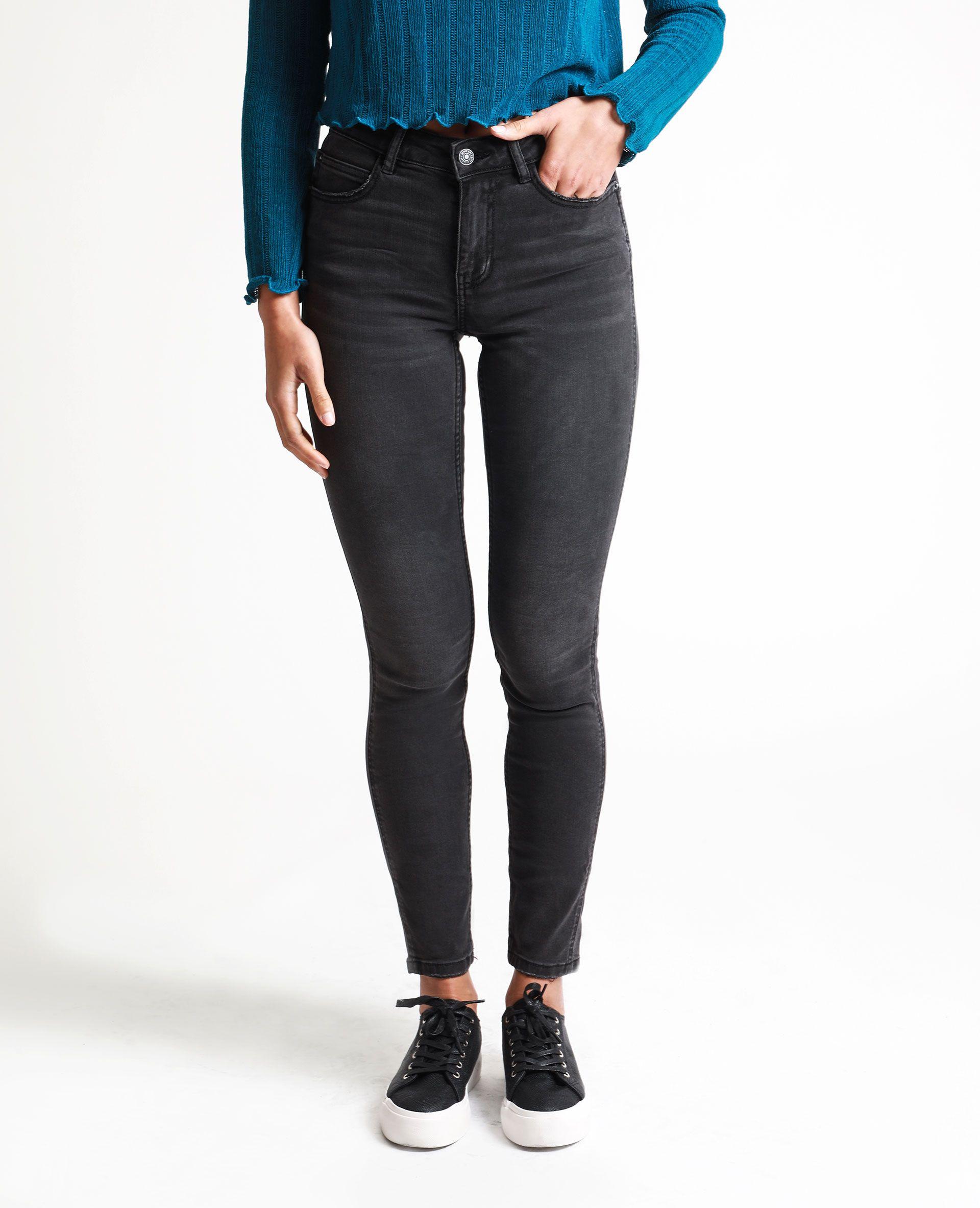 Jean skinny taille haute noir 140667899A08 | Pimkie | Jean