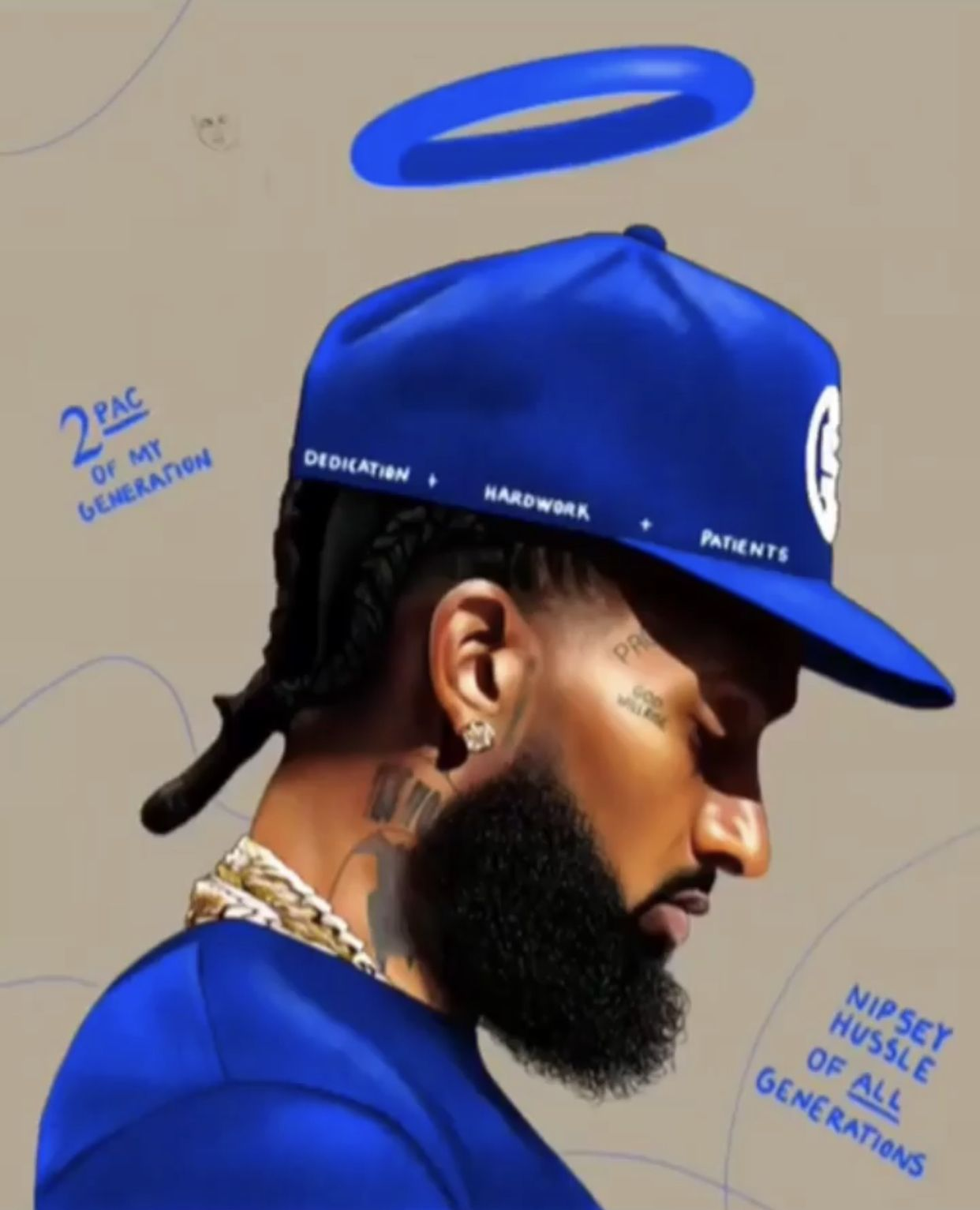 Pin by Leka Havili on Nipsey THA GREAT Hussle! Black art