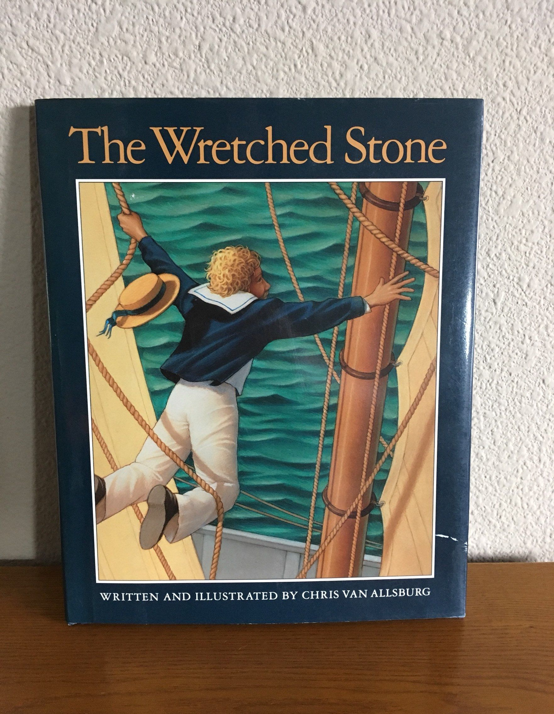 First Edition First Printing Of The Wreched Stone By Chris