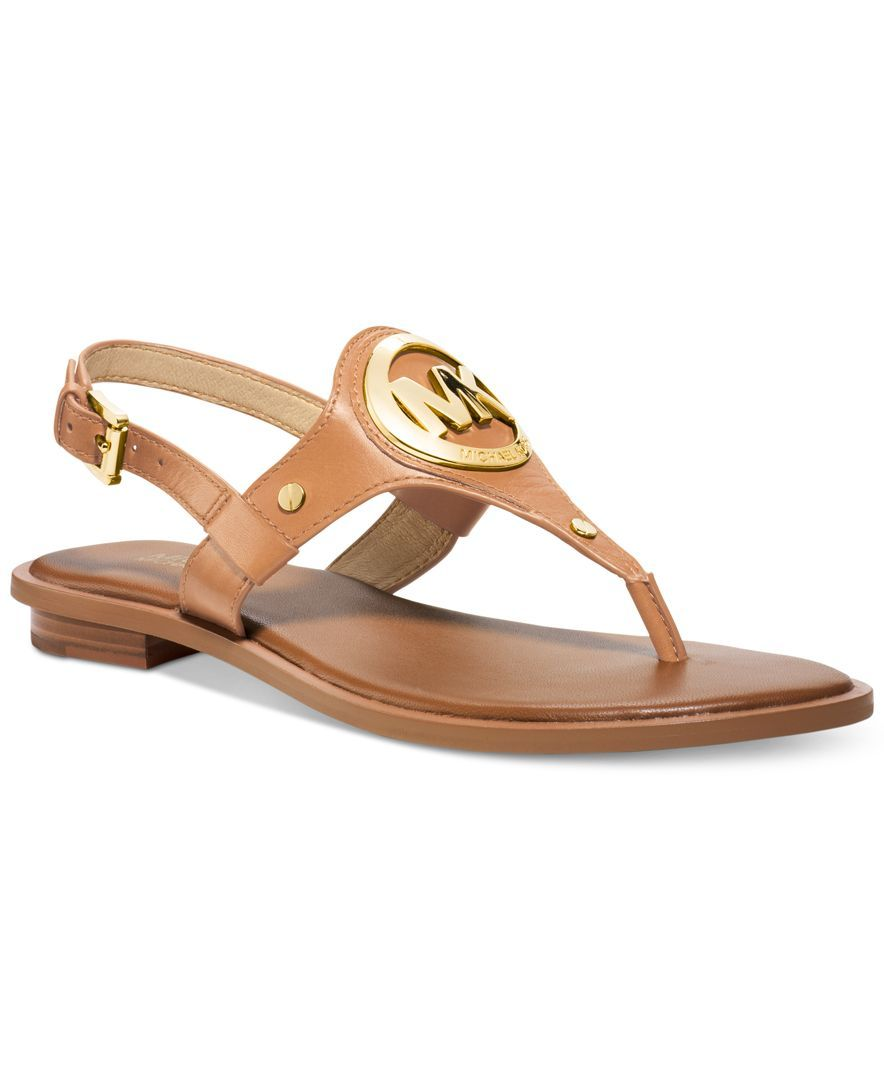 43272aaac0 Michael Michael Kors Aubrey Charm Thong Sandals | MK Addict in 2019 ...