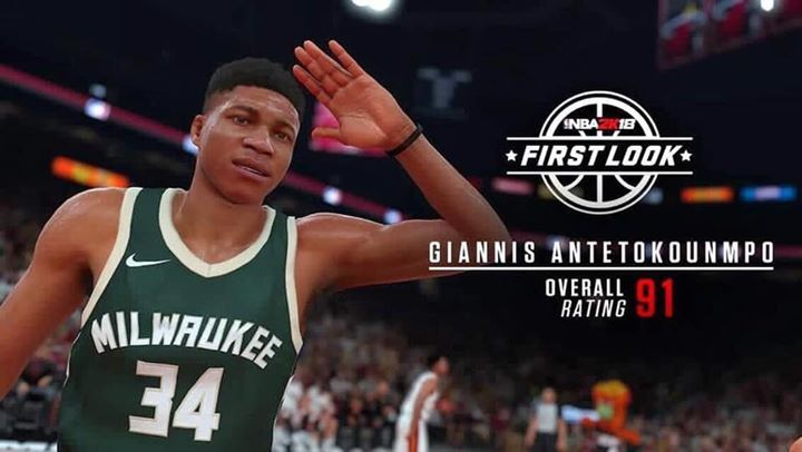 Giannis Antetokounmpo will be 91 overall in NBA2k18! Too high? Too low?  Accurate