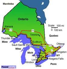 Timmins Ontario Map On Ontario Canada map of Ontario | Ontario map, Timmins, Ontario