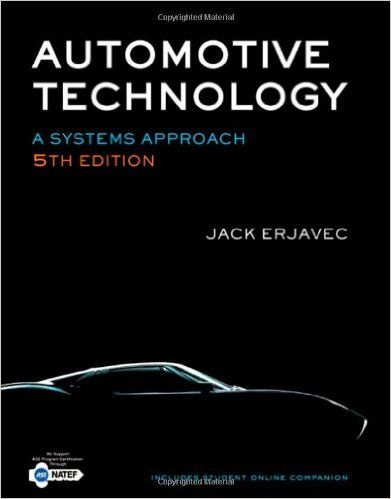 Automotive Technology A Systems Approach 5th Edition Jack
