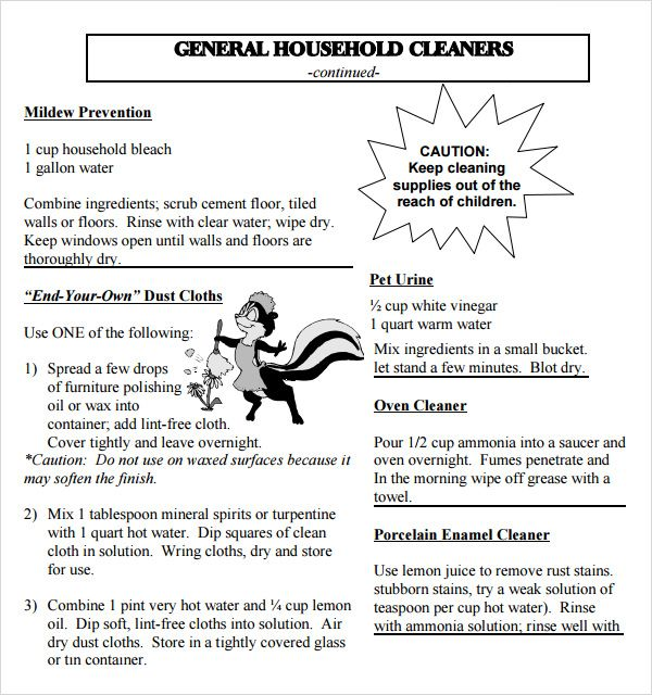 House Cleaning Tips PDF Cleaning Hacks Pinterest House