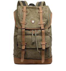 Vintage Leather or Canvas Backpacks & Rucksacks for Men and Women