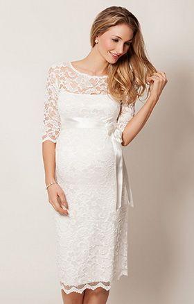 Белые вечерние платья для беременных