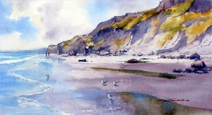 Watercolour New Zealand Gallery New Zealand Watercolor Gallery