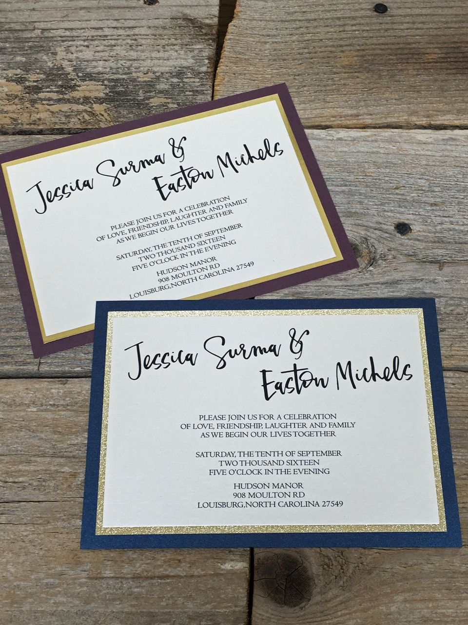party invitations after wedding%0A Triplelayered cardstock and originality pours from these shimmering and  mirrored invitations for your Wedding