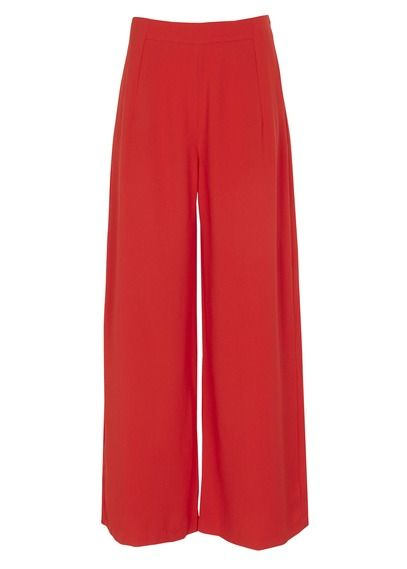 Pantalon large fluide Jamy Rouge by SUNCOO   Mode   fashion ... 163f8528166