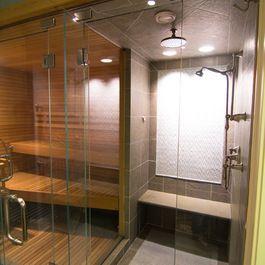 Teak Shower Bathrooms Pinterest Teak Spa Baths And Basement - Bathroom remodel steam shower