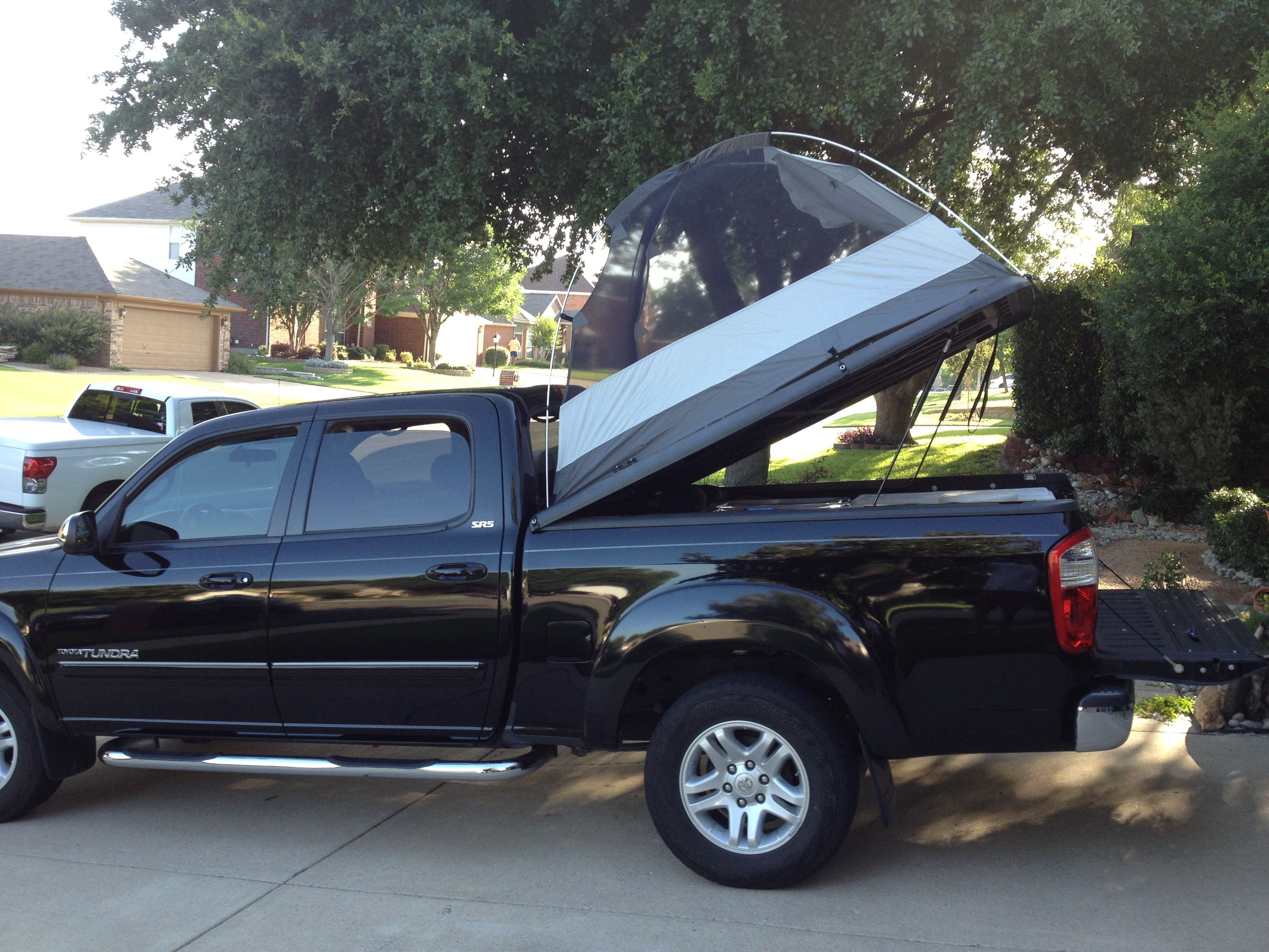 Truck Tent On A Tonneau