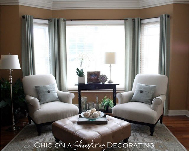Baby Grand Piano Living Roomchic On A Shoestring Decorating Fair Window Treatments For Living Room And Dining Room Design Inspiration