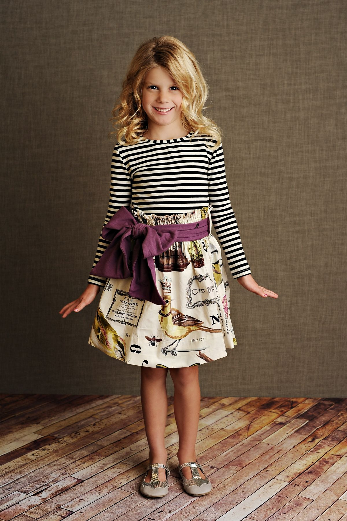 Purple Hattie Skirt Persnickety Outlet Persnickety