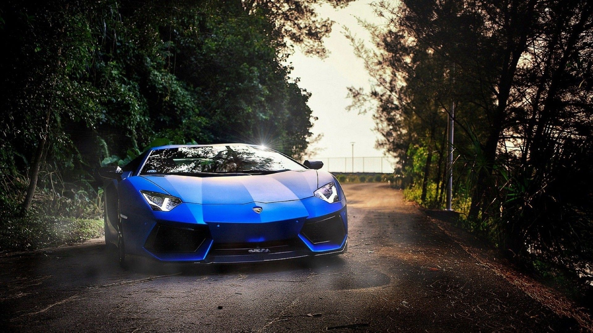 Blue Lamborghini Wallpaper High Quality