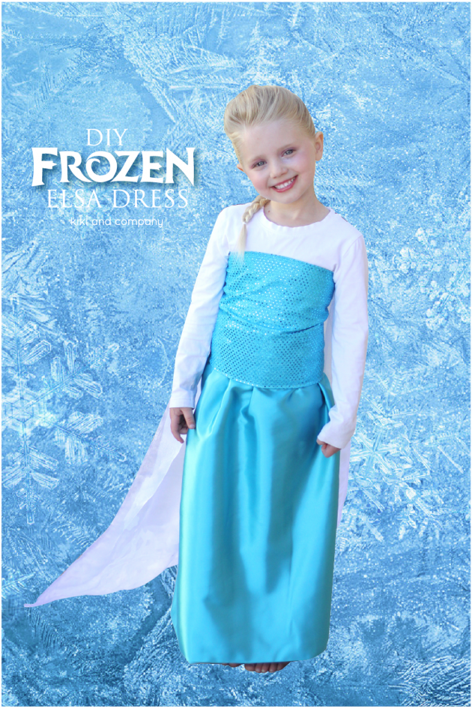 DIY Frozen Elsa Dress tutorial day 2 of 3..THE SKIRT. Fast and Easy costume to make with little sewing experience needed!  sc 1 st  Pinterest & DIY Frozen Elsa Dress tutorial day 2 of 3..THE SKIRT. Fast and ...