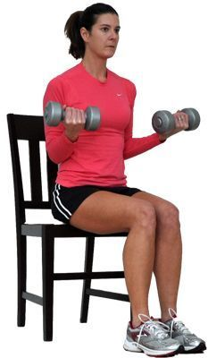 overweight exercisers can lift weights with a seated total