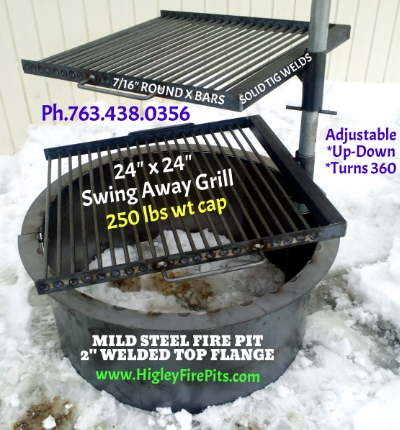 Higley Metals & Fire Pit Fabrication. We ship US 48 States