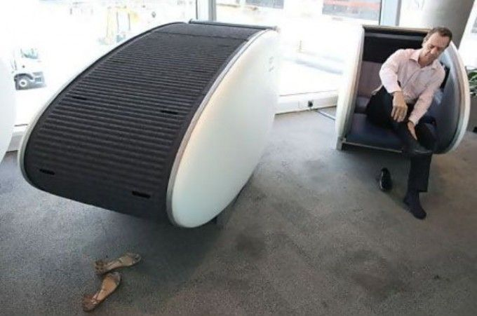 sleep pods | Abu Dhabi's sleeping pods