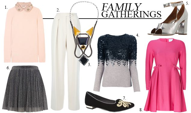 Fool Proof Party Season Outfit Guide for Family Gatherings