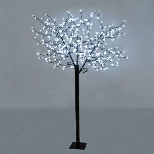 Large Decorative Cool White Blossom Bonsai Style LED Tree Light ...