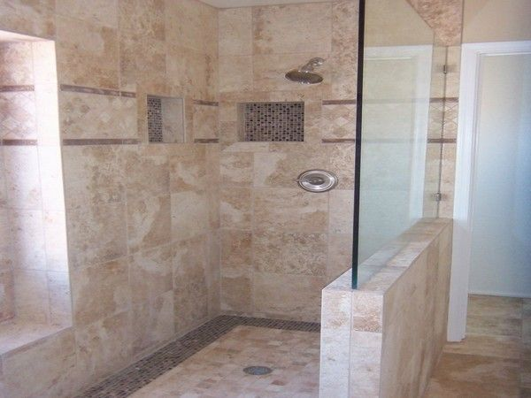 Open Shower Ideas Awesome Doorless Shower Creativity Decor Around The World Doorless Shower Doorless Shower Design Shower Design
