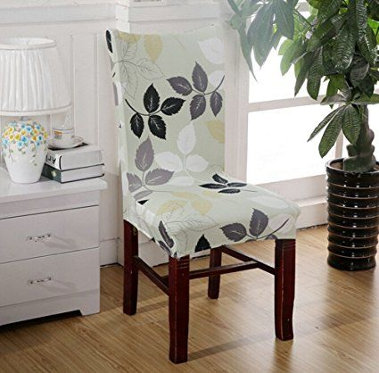 Amazon Com Stretch Removable Washable Dining Chair Protect Seat Cover Slipcover For Hotel Di Slipcovers For Chairs Dining Chair Covers Dining Room Seat Covers