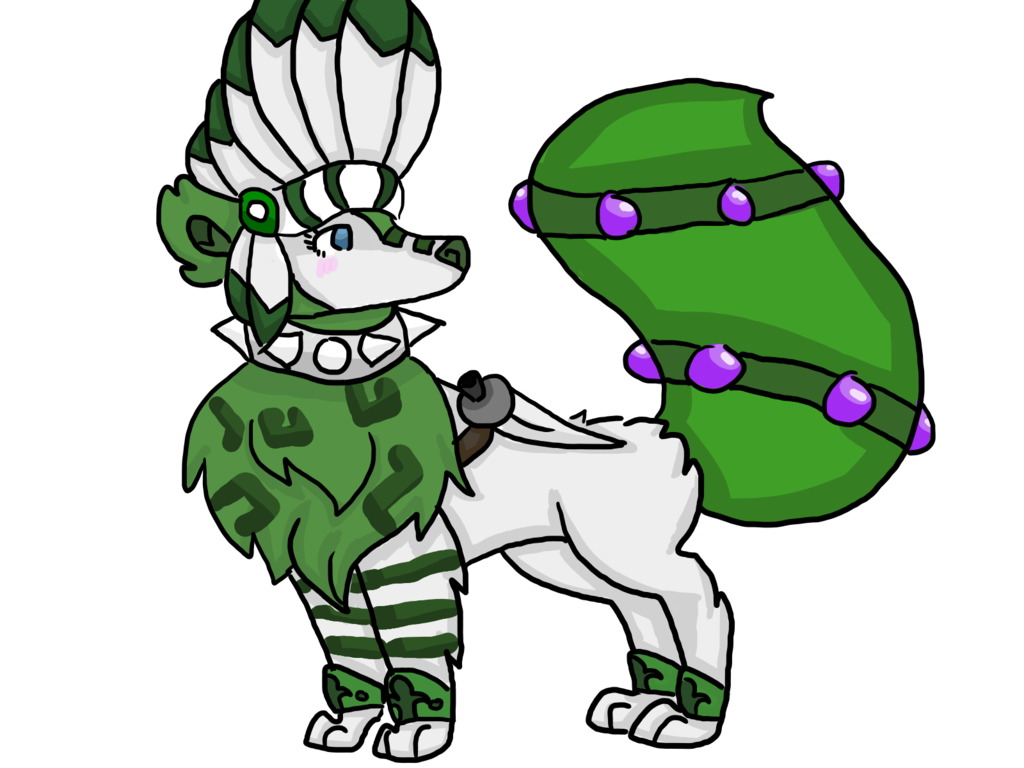 Headdress Wolf By Hellamajestic · Animal Jamheaddressfanartwolves How To  Draw An Amazing Animal Jam