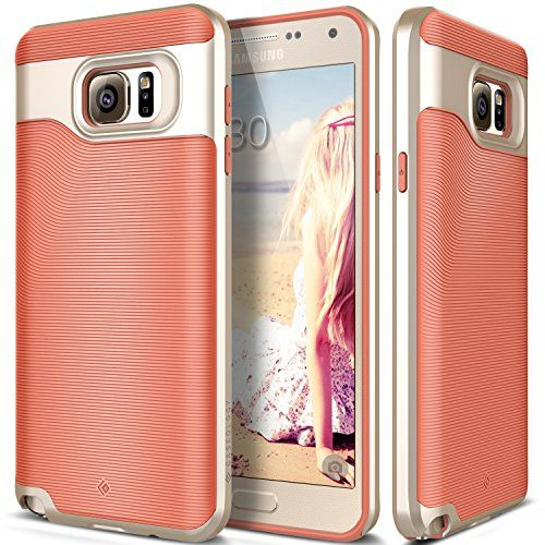 official photos ee7ab 4fba9 Galaxy Note 5 case, Caseology® [Wavelength Series] [Coral Pink ...