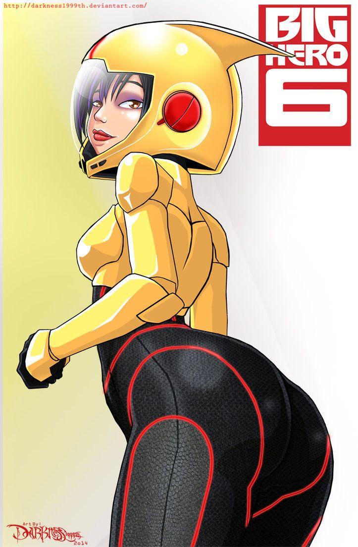 Big Hero 6 Sexy Gogo