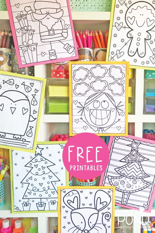 Coloring Page Freebies