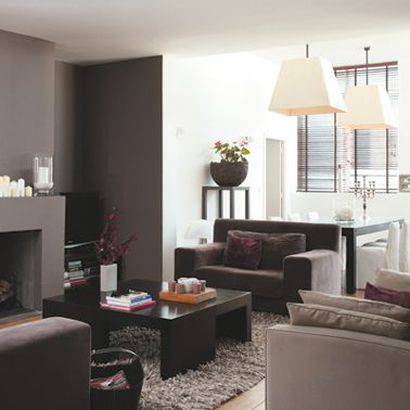 30 id es peinture salon aux couleurs tendance salons - Decoration living couleurs ...