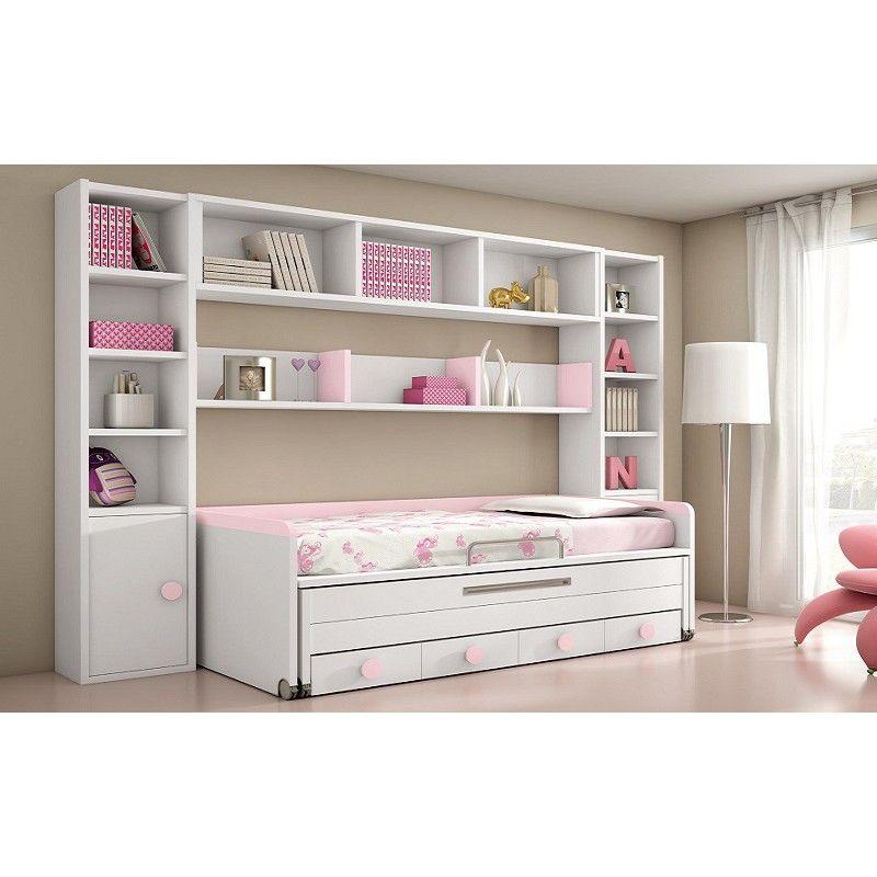 Dormitorio Ninas 1051 | Muebles para dormitorio, Dormitorio de niñas ...
