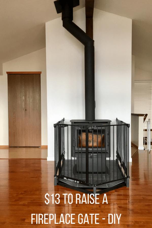 fireplace gate raising a baby gate for fireplace safety rh pinterest com