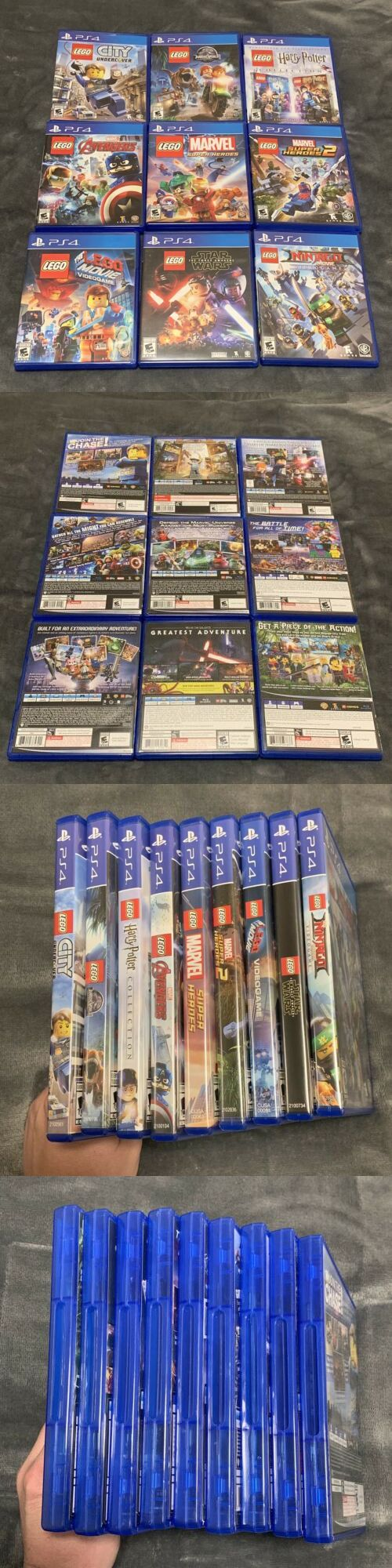 ps4 playstation 4 lego games lot city undercover marvel