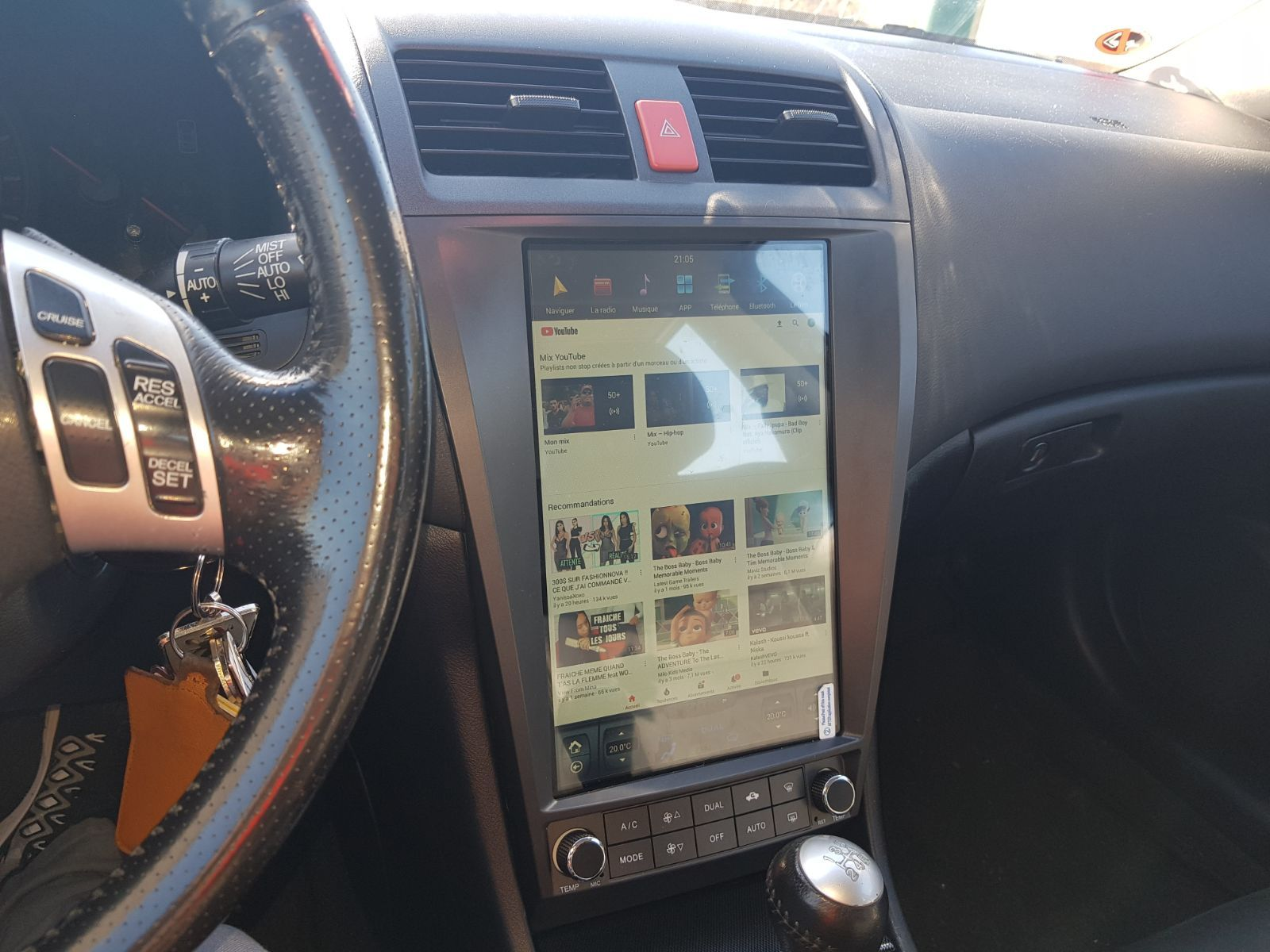 12.1 Tesla vertical Touch screen In-dash Car dvd Auto gps Navigation ...