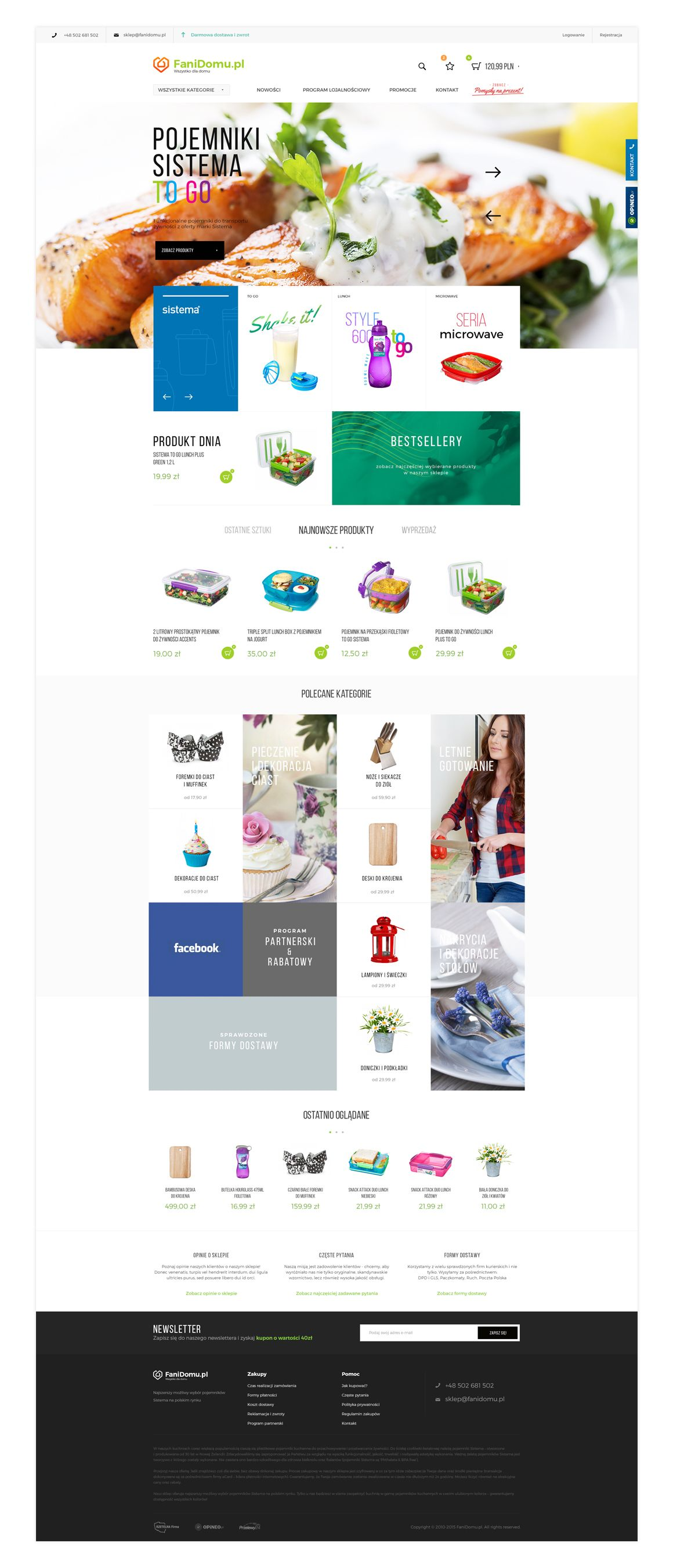f573f0a53 Food containers shop #webdesign | Web Design | Container shop, Food ...
