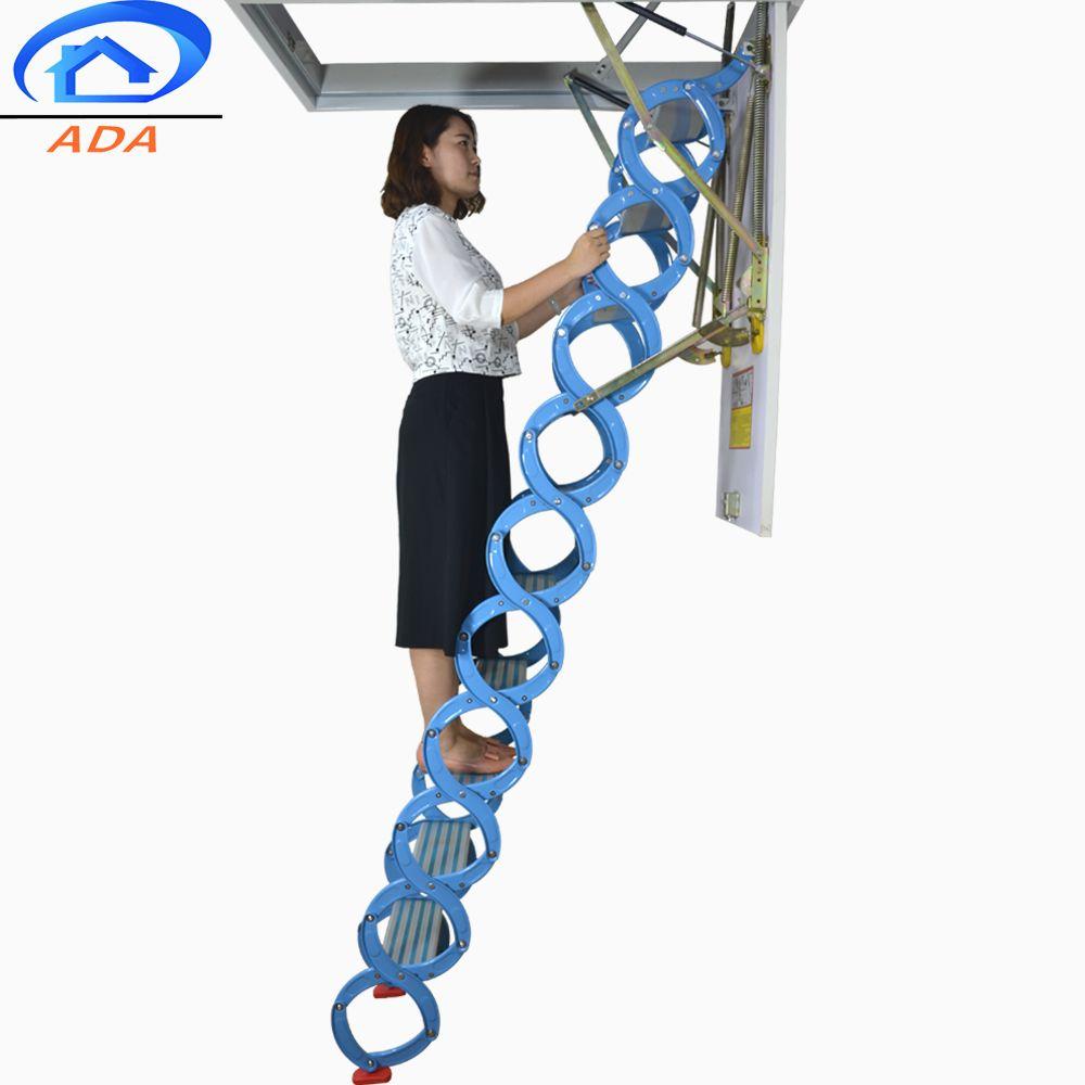 Custom titanium magnesium alloy loft ladder buy step