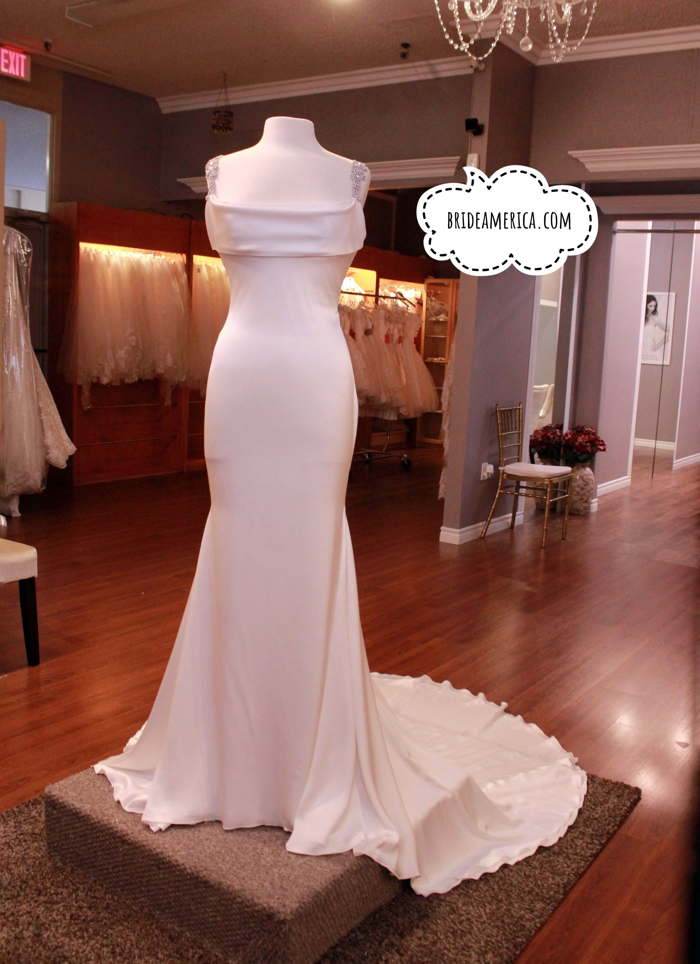 Wedding Dress at Bridal and Veil in San Diego, California. Beautiful ...