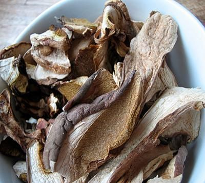 Risotto with Piglet Mushrooms: Any meaty mushrooms may be substituted for porcini!