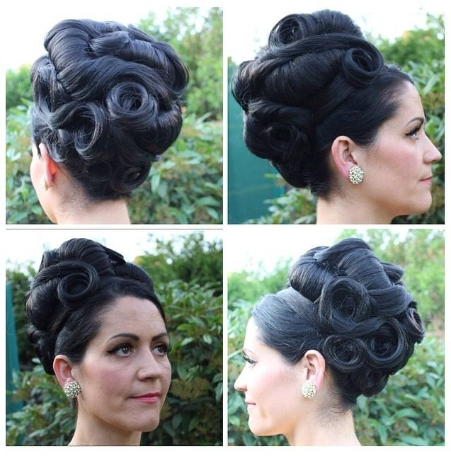 60s Updo 60s 1960s Grecian Hairup Bighair Updo Hairpieces Highhair Partyhair Weddinghair Vint Hair Styles Party Hairstyles Sophisticated Hairstyles