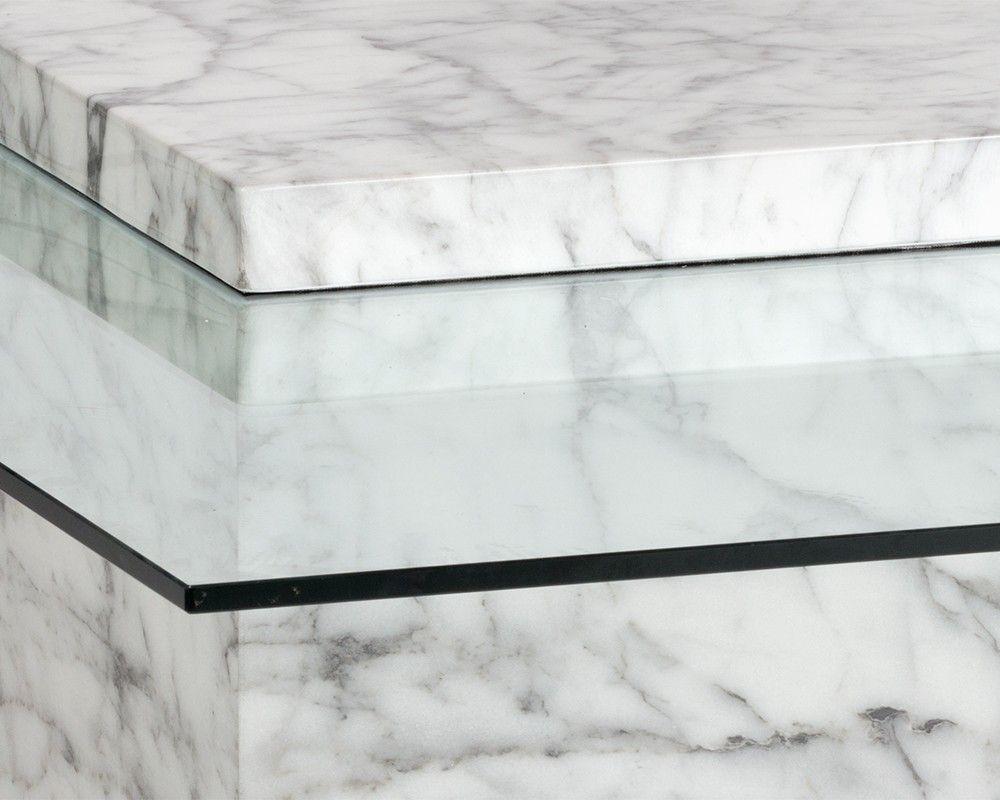 Magnificent Gail Coffee Table A Dramatic Marble Look Block Defines Inzonedesignstudio Interior Chair Design Inzonedesignstudiocom