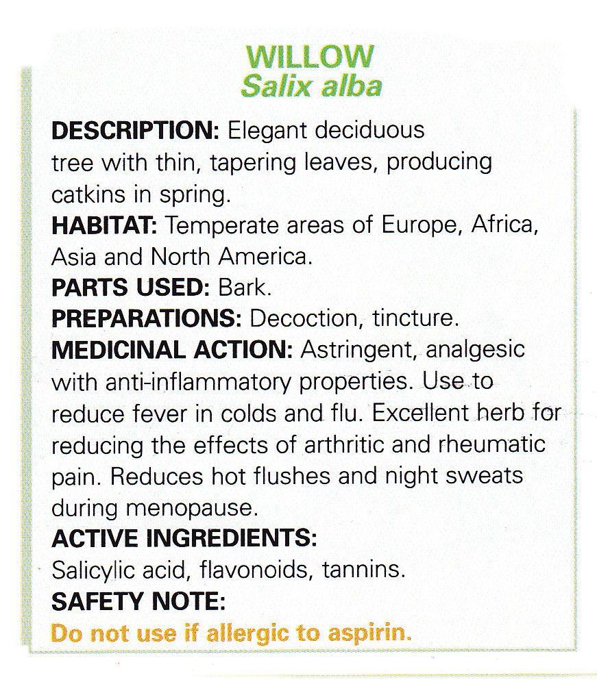 willow sant bien tre herboristerie sant bien tre. Black Bedroom Furniture Sets. Home Design Ideas