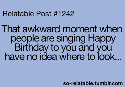 Truly awkward...