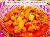 Photo of Juicy Meatballs with Vegetables-Sebzeli Sulu Köfte  Juicy Me…