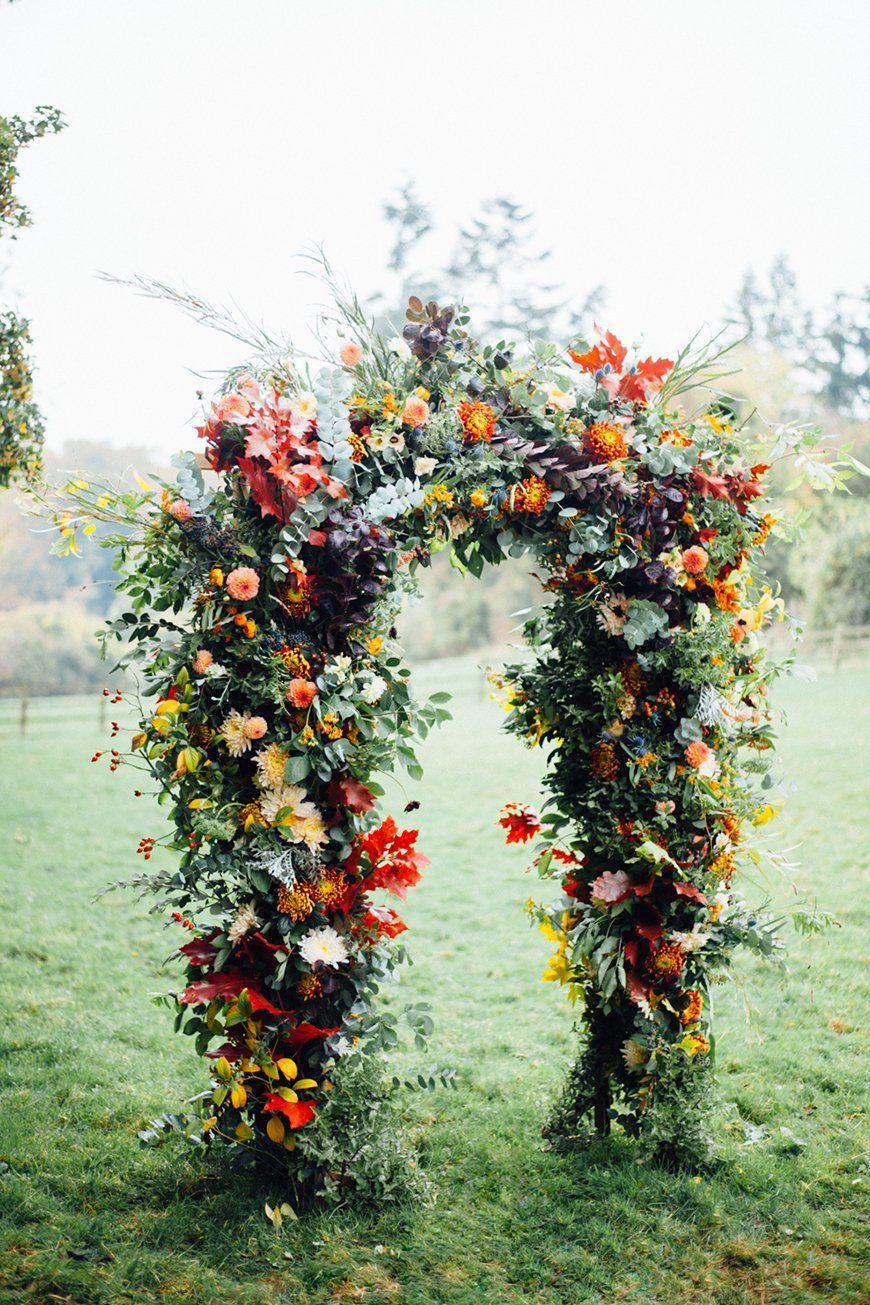 Wedding Flowers In Season November Wedding CHWV Fall