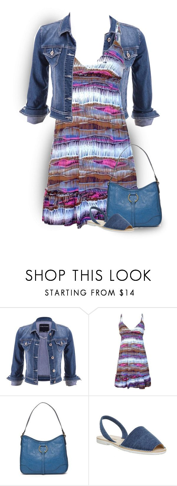 """""""Untitled #1091"""" by tinkertot ❤ liked on Polyvore featuring Trilogy, maurices, jon & anna, Bueno and Solillas"""