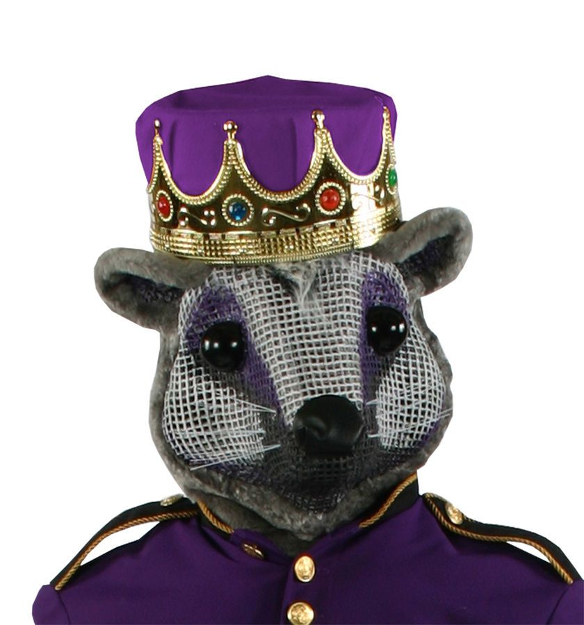 Mouse King Nutcracker Head With Purple Crown Adult Costume Theme Party Halloween With Images Purple Crown Mouse King Red Crown