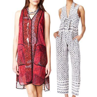 Inlu this! Founded with a mission to develop and encourage trade with Africa, Edun offers fetching, fun and versatile designs to be worn for a chic cause.